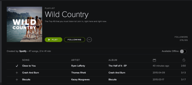 Ryan Laffery Spotify